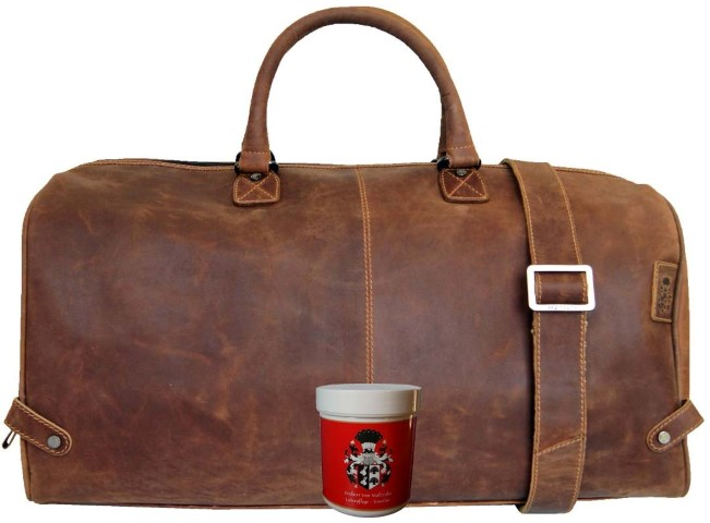 Reisetasche Leder braun herren Kolumbus