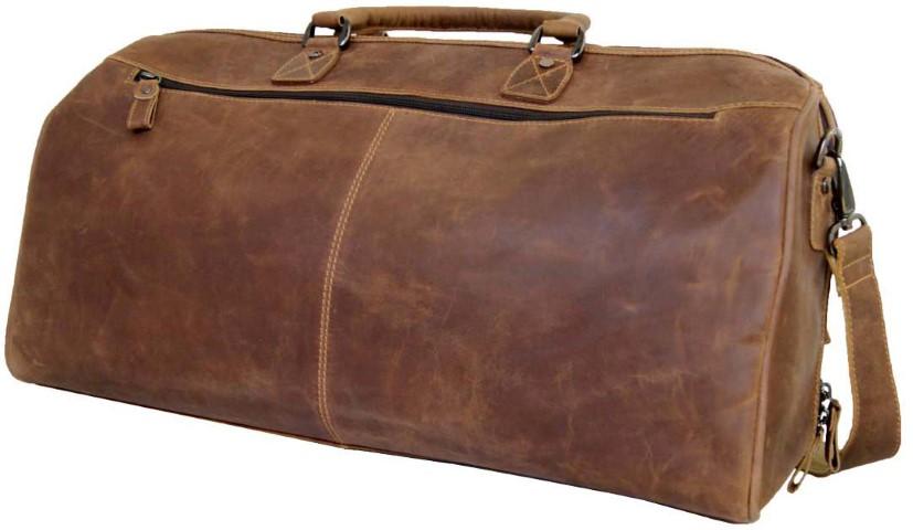 Reisetasche Leder braun