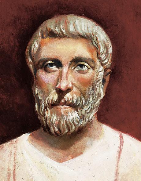 Porträt Pythagoras von Samos