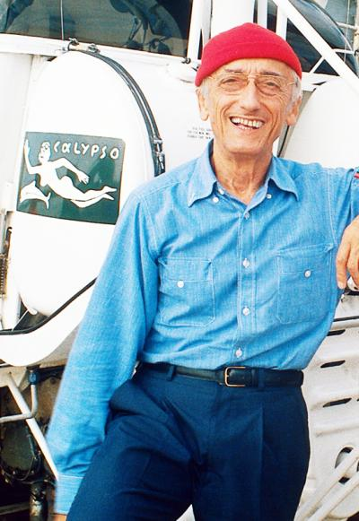 Portrait Jacques Yves Cousteau
