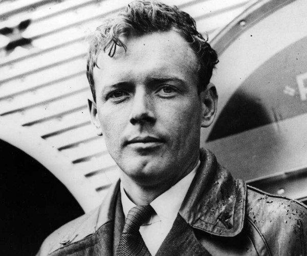 Portrait Charles Lindbergh