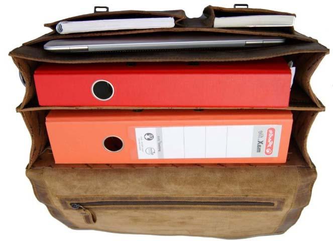 Schulranzen Aktentasche mit zwei Fächer