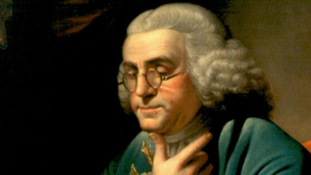 Portrait Benjamin Franklin