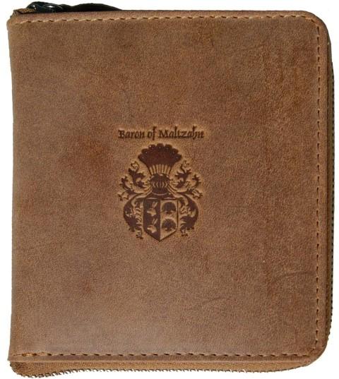 Herren Portemonnaie Leder